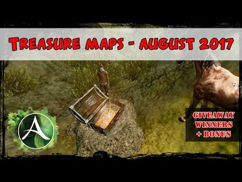 ArcheAge - Rare Treasure Map Speedrun, Giveaway Winners + Suprise !