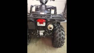 4. 2016 suzuki  king quad 750 axi power steering
