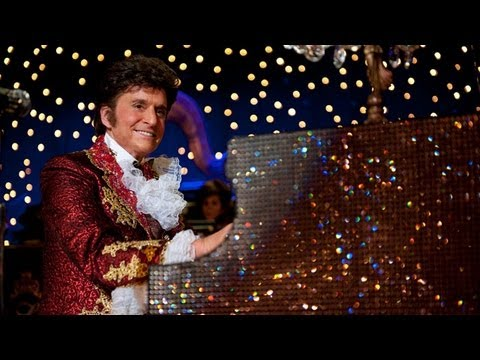 TheGuardian - Click here for a review of the Serpentine pavilion 2013 http://vid.io/xs8 Behind the Candelabra - the Guardian Film Show review Subscribe to the Guardian HER...