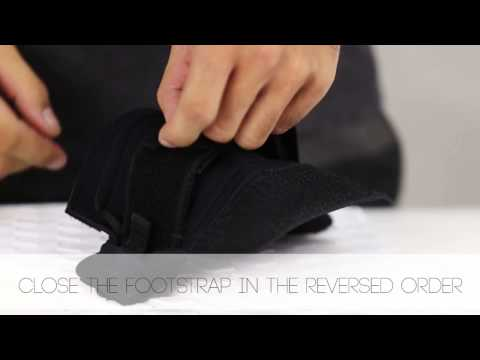 Assembly Video: Sizing your Footstraps