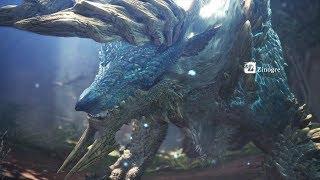 Monster Hunter World: Iceborne - Zinogre (Solo / Longsword)