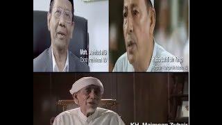Tokoh NU Patuhi Wasiat Gusdur (Habib Luthfi, KH. Maimoen Zubair dan Mahmud Md)