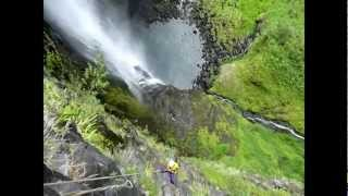 La Réunion, Canyoning au Trou de Fer