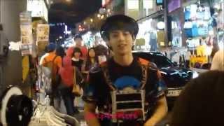 Video [FANCAM] 140609 C-CLOWN ROME (롬) FILMING AT HONGDAE (홍대) MP3, 3GP, MP4, WEBM, AVI, FLV Desember 2017