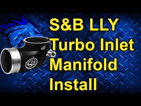 Turbo Inlet Intake Elbow Install: 04.5-05 GM Duramax LLY #76-1006B