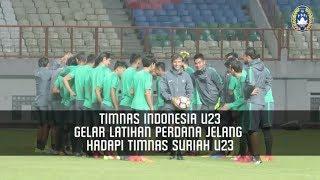 Download Video Timnas Indonesia U23 Gelar Latihan Perdana Jelang Hadapi Timnas Suriah U23 MP3 3GP MP4