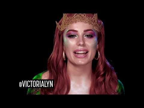 Faces of DC: Mera Halloween Makeup Tutorial