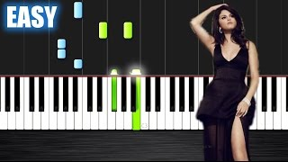Selena Gomez - Same Old Love - EASY Piano Tutorial