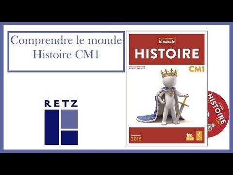 Histoire CM1 - Collection Comprendre le monde