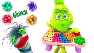 Video Learn Colors with Baby Grinch Eats Gumballs and Breakfast in High Chair MP3, 3GP, MP4, WEBM, AVI, FLV Januari 2019