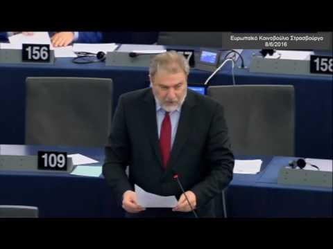 Νότης Μαριάς στην Ευρωβουλή: Όχι στη βεβήλωση της Αγιάς Σοφιάς από τους Τούρκους