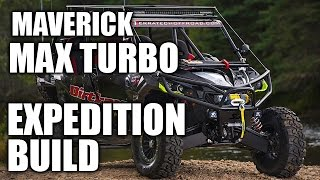 8. Can-Am Maverick Max X ds Turbo Expedition Project: PART 4