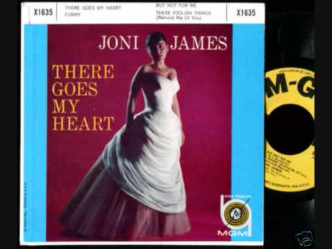Tekst piosenki Joni James - There Goes My Heart po polsku