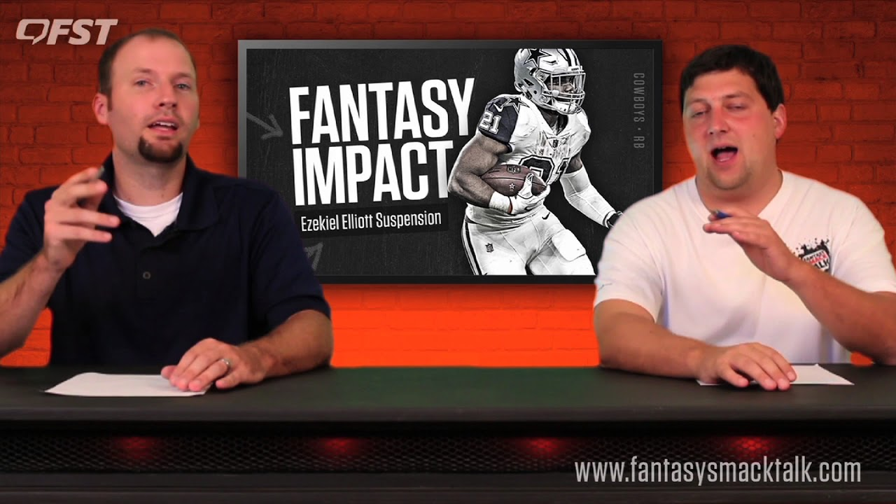The Latest Fantasy Advice on the Ezekiel Elliott Suspension 2017 Fantasy Football thumbnail