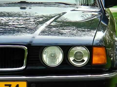 BMW 7 Serie E 32 730i V8 Aut.-5 Executive * slechts 85.371 km. gereden! * VERKOCHT! *