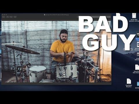 Billie Eilish - Bad Guy - Drum Cover