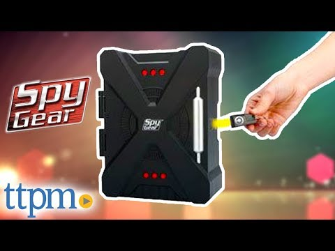 Spy Gear Spy Safe With Magnetic Key From Wild Planet