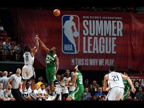 Full Highlights: Boston Celtics vs Dallas Mavericks, MGM Resorts NBA Summer League   July 15