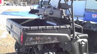 7. 2008 Polaris Ranger, Browning Edition, 700EFI: Black Diamond Auctions