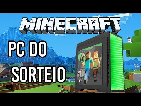 Chipart - SORTEIO!!! JOGANDO MINECRAFT NO PC DO SORTEIO REZENDE!