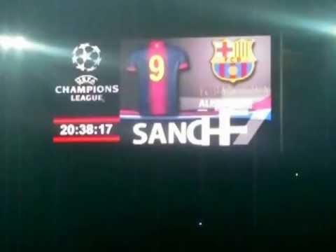 Milan - Barcellona 2 - 0  Le Formazioni.AVI