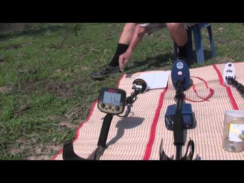 Comparison between Minelab Eureka Gold, Fisher Gold Bug 2 and Fisher Gold Bug Pro