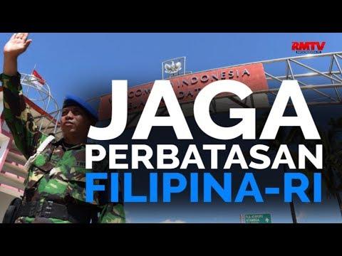 Jaga Perbatasan Filipina-RI