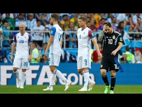 Μουντιάλ 2018: Στραβοπάτησε η Αργεντινή απέναντι στην Ισλανδία…