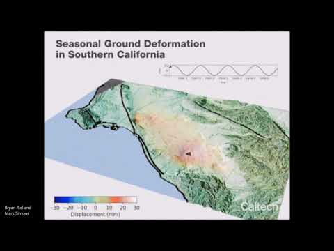 Southern California  is 'Breathing' Water - Satellite Data  shows