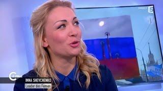La Femen Inna Shevchenko attaque Poutine sur le meurtre de Boris Nemtsov