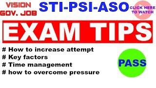Exam TIPS for combine exam  MPSC साठी चे बाकीचे LECTURES बघण्यासाठी खाली दिलेल्या LINK वर CLICK कराWatch Mpsc lectures Online:https://www.youtube.com/channel/UCjhTfq5TACq6pu2Dl2aYTGwIn these videos, we are going to reveal to you exactly, step-by-step how we can Crack Mpsc and many Competitive exams.This video will provide very useful information and it will help in all competitive examinations such as Upsc Mpsc STI PSI ASSISTANT as well as Bank exams also..so please watch this lecture it will definitely help you to Crack Mpsc as well as Upsc...★☆★ VIEW THE OTHER POST: ★☆★ https://www.youtube.com/channel/UCjhTfq5TACq6pu2Dl2aYTGw★☆★ SUBSCRIBE TO US ON : ★☆★https://www.youtube.com/channel/UCjhTfq5TACq6pu2Dl2aYTGw/featured★☆★ FOLLOW VISION GOVERNMENT JOB BELOW: ★☆★Facebook Group: https://www.facebook.com/groups/1886957188200638/  Facebook Page: https://www.facebook.com/visiongovernmentjobvGj/ ★☆★ OUR OTHER VIDEOS & PLAYLISTS: ★☆★ Mpsc lectures in marathi https://www.youtube.com/watch?v=xq0e1NMVNvI&list=PLkrDYQ59e_iFJ8nfq5BhMPD7j2iLY21E3 Vision MPSC https://www.youtube.com/watch?v=nbR5cdre7oY&list=PLkrDYQ59e_iH4TKSnh2wtp4l6ku8v_cvv Vision history https://www.youtube.com/watch?v=WlIqFO4BKkc&list=PLkrDYQ59e_iE0IfEWwN8vQwriTOle0rYU Vision Economics in Marathi Economics lectures in Marathi https://www.youtube.com/playlist?list=PLkrDYQ59e_iHQqSJ08t_p2kqalqtmEXOz Vision Polity in Marathi Polity lectures in Marathihttps://www.youtube.com/watch?v=91nM3rwwZiY&list=PLkrDYQ59e_iGPthv1zDco1KDu5rcDoC3b VISION G K SERIES https://www.youtube.com/watch?v=ZRThYxPIsAA&list=PLkrDYQ59e_iEnB3Ni03sua8Fs54BZq7do Vision Current Affairs in Marathi Current Affairs in Marathihttps://www.youtube.com/playlist?list=PLkrDYQ59e_iEUri5Vsm4aTvBYIz2ohH5a Vision Geography in Marathi https://www.youtube.com/watch?v=FPaIfsCycRU&list=PLkrDYQ59e_iGP0pqU9WEJ41-UvoCBIT7v Vision Science https://www.youtube.com/watch?v=mtQymYAVE38&list=PLkrDYQ59e_iHnyF7HDeefyKv2h4Qg4tyc Vision Daily Quiz  https://www.youtube.com/playlist?list=PLkrDYQ59e_iHdy7Qd63nx2spWA4LcHrJJWe started our channel, Vision Government Job, on 02 October of 2016.★☆★ RECOMMENDED RESOURCES: ★☆★https://www.youtube.com/channel/UCjhTfq5TACq6pu2Dl2aYTGw