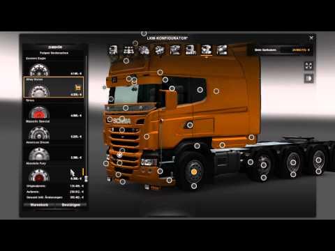 Scania R & Streamline Modification v1.2