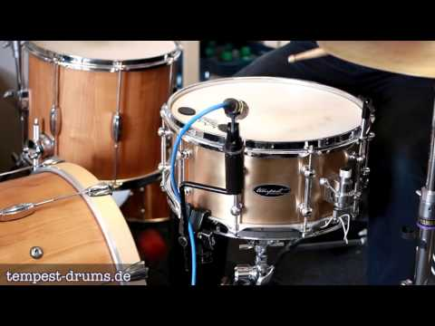 Tempest Drums 14x6,5 Bell Bronze Snare Sound Demo