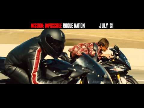 Mission: Impossible Rogue Nation (TV Spot 'Faster')