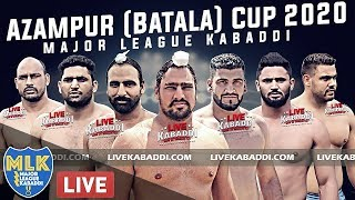 LIVE - Azampur (Batala) Major League Kabaddi Cup 2020