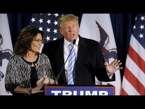 ΗΠΑ: Σάρα Πέιλιν και «Tea Party» στο πλευρό του Ντόναλντ Τραμπ