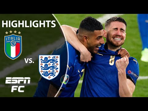 Italy WINS Euro 2020 on PENALTIES vs. England! | Highlights | ESPN FC