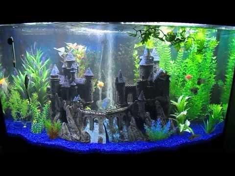 Penn plax south castle aquarium d cor customer for Petco fish tank decor