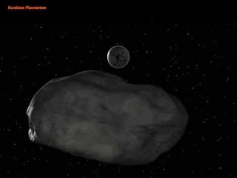 Asteroid 2004 BL86 Close Encounter with Earth 26 Jan 2015