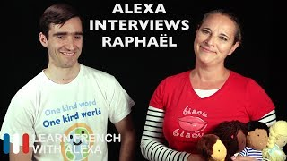 Alexa recently had a visitor, Raphaël from One Dear World http://www.onedearworld.com and conducted an interview for listening practice.SUPPORT GUIDE and EXCLUSIVE VIDS at ► https://learnfrenchwithalexa.comMy Patreon page ► https://patreon.com/french----------------------------------------------RECOMMENDED PLAYLISTS100% French playlist ► http://learnfren.ch/100FrenchLFWA----------------------------------------------MY LIVE LESSONSJoin my live lessons ► http://learnfren.ch/live-lessons----------------------------------------------MY LINKSMy Blog ► https://learnfrenchwithalexa.com/blogFacebook ► http://learnfren.ch/faceLFWATwitter ► http://learnfren.ch/twitLFWALinkedIn ► http://learnfren.ch/linkedinLFWANewsletter ► http://learnfren.ch/newsletterLFWAGoogle+ ► http://learnfren.ch/plusLFWAMy Soundcloud ► https://soundcloud.com/learnfrenchwithalexaT-Shirts ► http://learnfren.ch/tshirtsLFWA----------------------------------------------MORE ABOUT LEARN FRENCH WITH ALEXA'S 'HOW TO SPEAK' FRENCH VIDEO LESSONSAlexa Polidoro a real French teacher with many years' experience of teaching French to adults and children at all levels. People from all over the world enjoy learning how to speak French with Alexa's popular online video and audio French lessons. They're fun, friendly and stress-free! It's like she's actually sitting there with you, helping you along... Your very own personal French tutor.Please Like, Share and Subscribe if you enjoyed this video. Merci et Bisou Bisou xx----------------------------------------------Ready to take your French to the next level? Visit ► https://learnfrenchwithalexa.com to try out Alexa's popular French courses.