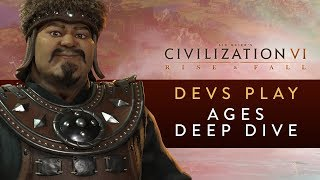 Video Civilization VI: Rise and Fall - Devs Play Mongolia & Netherlands (Ages Deep Dive) MP3, 3GP, MP4, WEBM, AVI, FLV Maret 2018