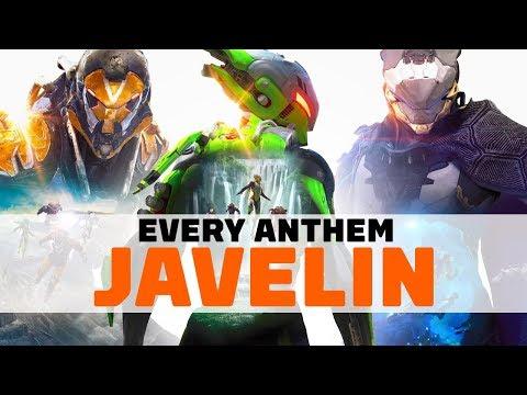 Tous les ultimes et compétences des Javelins de Anthem