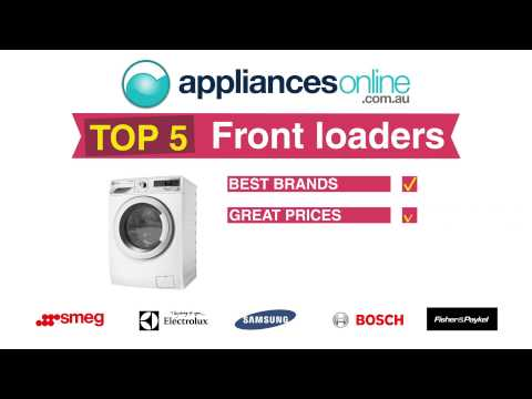 Appliances Online Top 5 Front Load Washing Machines – Choose yours today!