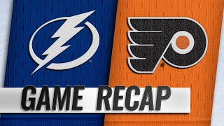 Lightning top Flyers for seventh straight win by NHL