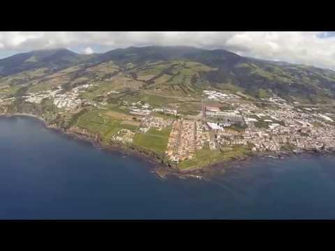 Vila Franca Do Campo Drone Video