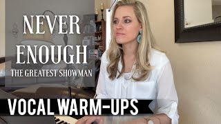 "Video Vocal Warm-Ups for Belting ""Never Enough"" The Greatest Showman MP3, 3GP, MP4, WEBM, AVI, FLV Mei 2018"