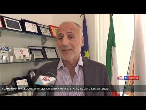 I CAMPIONATI ASSOLUTI DI ATLETICA SARANNO IN CITTA' AD AGOSTO   21/05/2020