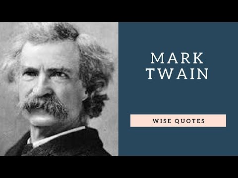 Positive quotes - Mark Twain Saying & Quote  Positive Thinking & Wise Quotes Salad  Motivation  Inspiration
