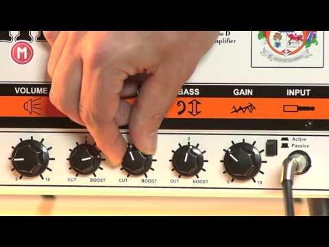 Orange Terror Bass 1000 im Test