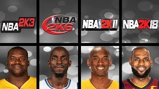 Highest Rated Basketball Players Ever In NBA 2K Games (NBA 2K - NBA 2K18)